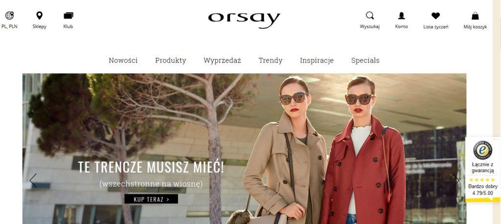 Orsay sklep internetowy