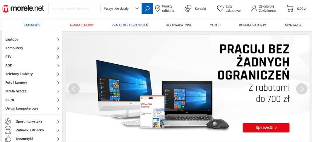 morele.net sklep internetowy