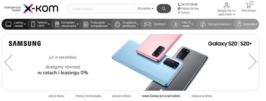x-kom.pl sklep internetowy